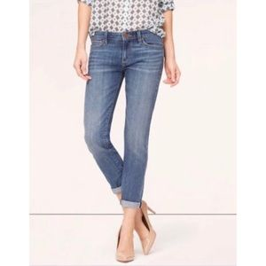 Loft Relaxed Skinny Jeans Size 29/8